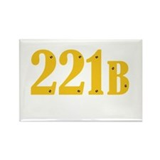 221B Rectangle Magnet