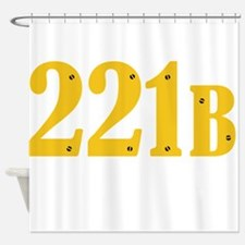 221B Shower Curtain
