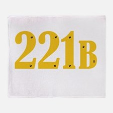 221B Throw Blanket