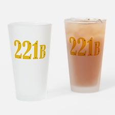 221B Drinking Glass