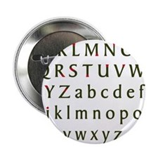 """Holiday Bakers Signet 2.25"""" Button"""
