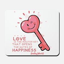 key smiley Mousepad