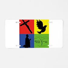 4 Colors Aluminum License Plate