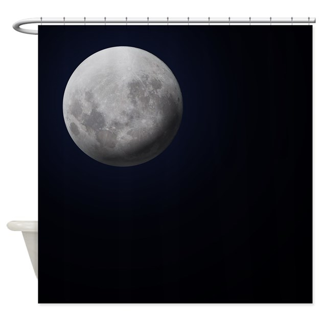 Full Moon Shower Curtain By Thehomeshop