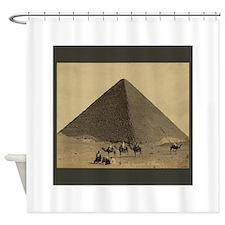 Egyptian Pyramid Shower Curtain