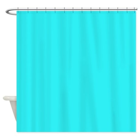 Teal Shower Curtain By Thehomeshop