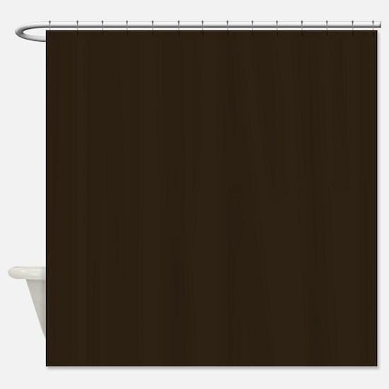 dark brown shower curtain. Dark Brown Shower Curtain Chocolate Curtains  CafePress