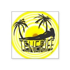 tenerife art illustration Sticker