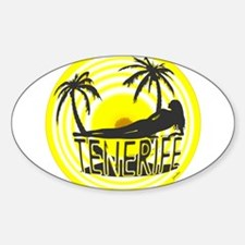 tenerife art illustration Decal