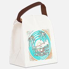 tenerife art illustration Canvas Lunch Bag