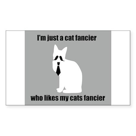 Cat Fancier Sticker