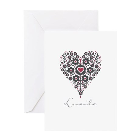 Love Lucile Greeting Card
