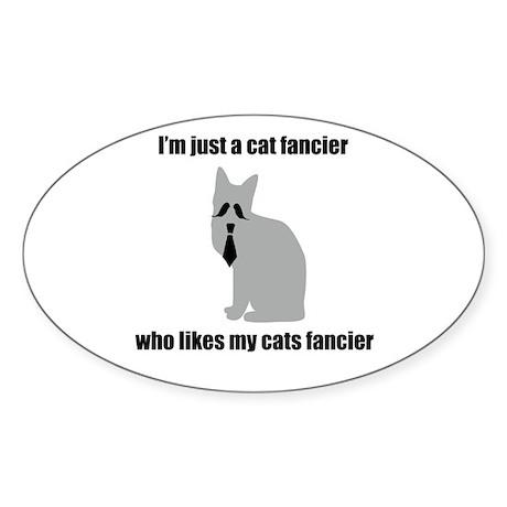 Cat Fancier 2 Sticker