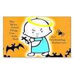 Baby Jesus Halloween Sticker
