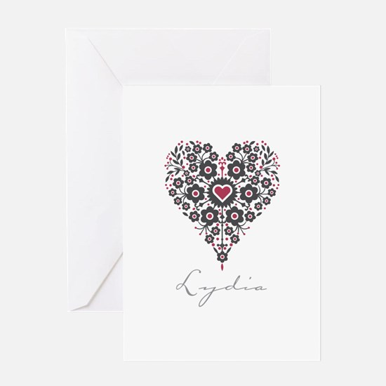 Love Lydia Greeting Card