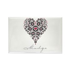 Love Madge Rectangle Magnet (10 pack)