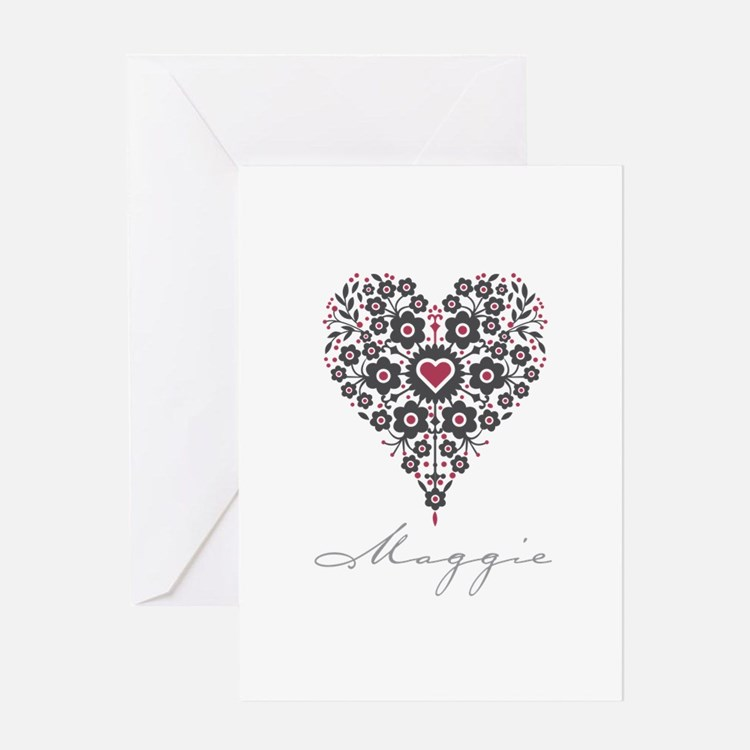 Love Maggie Greeting Card