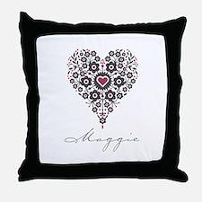 Love Maggie Throw Pillow