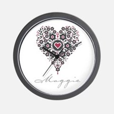 Love Maggie Wall Clock