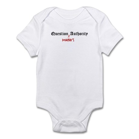 Question Dominik Authority Infant Bodysuit
