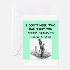 cricket Greeting Cards (Pk of 20)