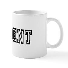 #1 Student Black Mug
