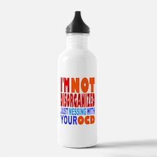 Not Disorganized OCD Water Bottle