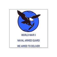 U S Naval Armed Guard<BR> Sticker