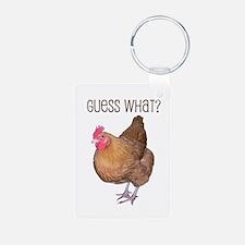Guess What Chicken Butt Keychain