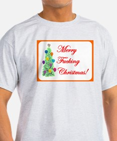 Adult Christmas Ash Grey T-Shirt