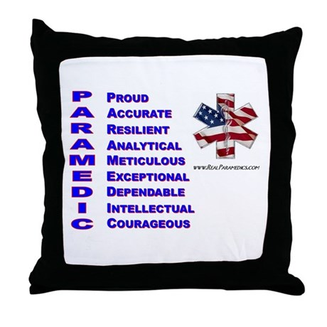 This Is A Paramedic Throw Pillow