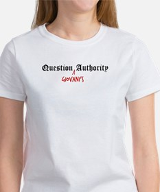 Question Giovani Authority Tee
