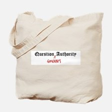 Question Giovani Authority Tote Bag