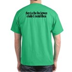 Summer Sucks/Mental Illness Dark T-Shirt