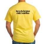 Summer Sucks/Mental Illness Yellow T-Shirt