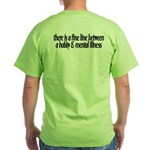 Summer Sucks/Mental Illness Green T-Shirt