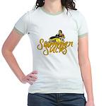 Summer Sucks/Mental Illness Jr. Ringer T-Shirt