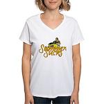 Summer Sucks/Mental Illness Women's V-Neck T-Shirt