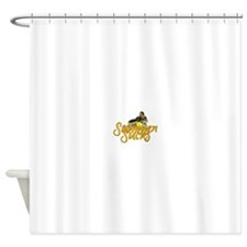 Summer Sucks/Mental Illness Shower Curtain