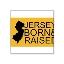 Jersey Born & Raised Sticker