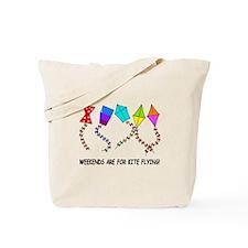 kite flying weekends Tote Bag
