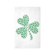 St Patricks Day Shamrock 3'x5' Area Rug