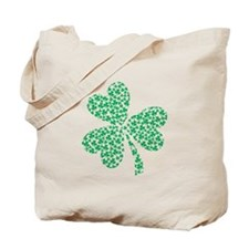 St Patricks Day Shamrock Tote Bag
