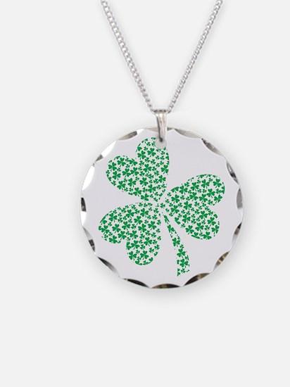 St Patricks Day Shamrock Necklace