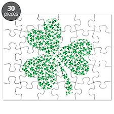 St Patricks Day Shamrock Puzzle