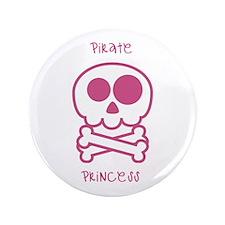 "pirate princess 3.5"" Button (100 pack)"