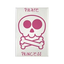 pirate princess Rectangle Magnet (100 pack)