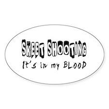 Skeet Shooting Designs Decal