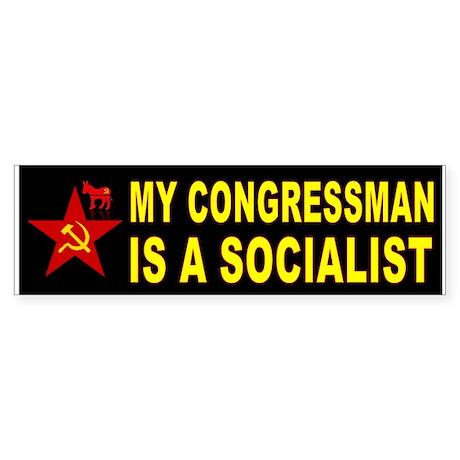 SOCIALIST CONGRESS Bumper Sticker