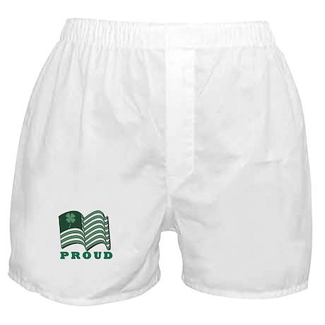 Proud Irish American Boxer Shorts